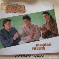 Discos de vinilo: RAZA - PISANDO FUERTE - BBA RECORDS - 1991 RF- 3800. Lote 213240841