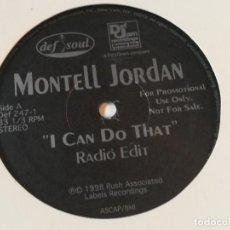 Discos de vinilo: MONTELL JORDAN - I CAN DO THAT - 1998. Lote 213249432