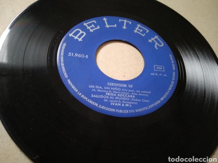 Discos de vinilo: VINILO FESTIVAL DE EUROVISIÓN 1969: VIVO CANTANDO (SALOMÉ), Y 3 CANCIONES OTROS PAÍSES - Foto 2 - 213257307