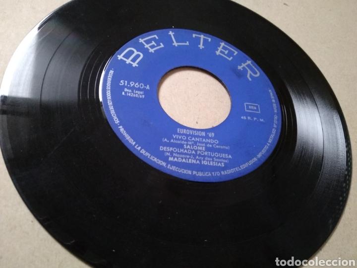 VINILO FESTIVAL DE EUROVISIÓN 1969: VIVO CANTANDO (SALOMÉ), Y 3 CANCIONES OTROS PAÍSES (Música - Discos de Vinilo - Maxi Singles - Festival de Eurovisión)