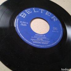Discos de vinilo: VINILO FESTIVAL DE EUROVISIÓN 1969: VIVO CANTANDO (SALOMÉ), Y 3 CANCIONES OTROS PAÍSES. Lote 213257307