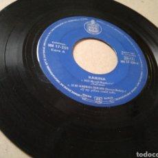 Discos de vinilo: VINILO KARINA 1963 CON HISPAVOX DILE. Lote 213257632