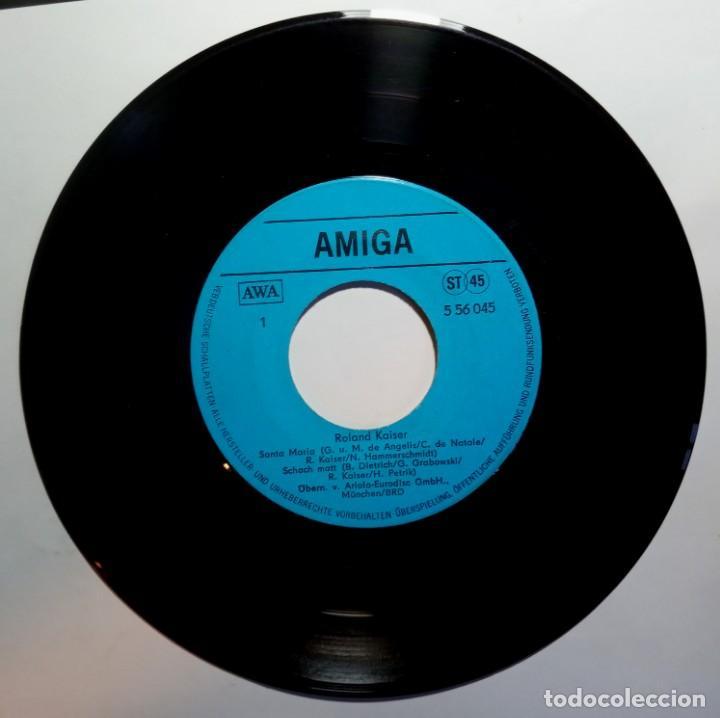Discos de vinilo: ROLAND KAISER - santa maria - EP ALEMAN 1982 - AMIGA - Foto 3 - 213258380