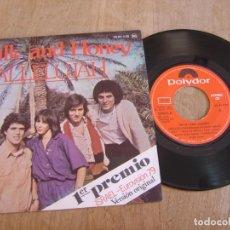 Discos de vinilo: VINILO. MILK AND HONEY. HALLELUJAH. 1979. PROBADO.. Lote 213250788