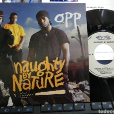 Dischi in vinile: O.P.P. SINGLE PROMOCIONAL NAUGHTY BY NATURE ESPAÑA 1992. Lote 213267196