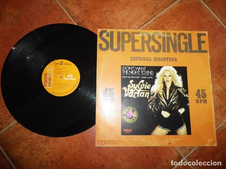 Discos de vinilo: SYLVIE VARTAN I Don´t want the night to end CANTADO EN INGLES MAXI SINGLE VINILO 1979 ESPAÑA - Foto 2 - 213277068
