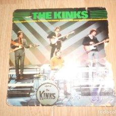 Discos de vinilo: THE KINKS - THE END OF THE DAY / HASTA QUE TERMINE EL DIA - 1965. Lote 213277468