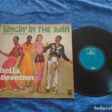 Discos de vinilo: SHEILA B. DEVOTION SPAIN LP 1978 SINGIN´ IN THE RAIN CANTANDO BAJO LA LLUVIA DISCO FUNK SOUL OFERTA. Lote 213277708