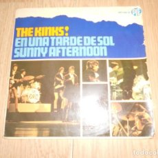 Discos de vinilo: THE KINKS - SUNNY AFTERNOON / EN UNA TARDE DE SOL - 1966. Lote 213277886