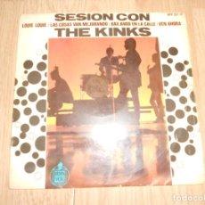 Discos de vinilo: THE KINKS - LOUIE LOUIE - 1965. Lote 213278408