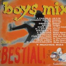 Discos de vinilo: BOYS MIX (3 LP´S). Lote 213278915