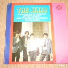 Discos de vinilo: THE KINKS - WATERLOO SUNSET / PUESTA DE SOL EN WATERLOO - 1967. Lote 213278975