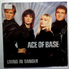 Discos de vinil: ACE OF BASE - LIVING IN DANGER - SINGLE UK 1994 - LONDON. Lote 213299132