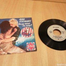 Disques de vinyle: ROD STEWART. DA YA THINK I'M SEXY?. DIRTY WEEKEND.. Lote 213299317