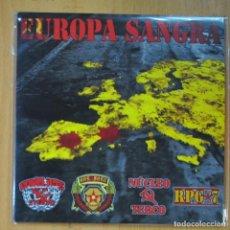 Discos de vinilo: EUROPA SANGRA - VARIOS - EP. Lote 213301790