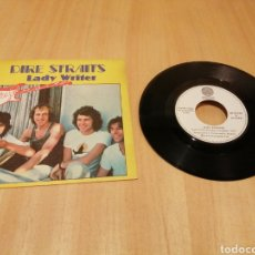 Discos de vinilo: DIRE STRAITS. LADY WRITER. WHERE DO YOU THINK YOU'RE GOING?.. Lote 213303166