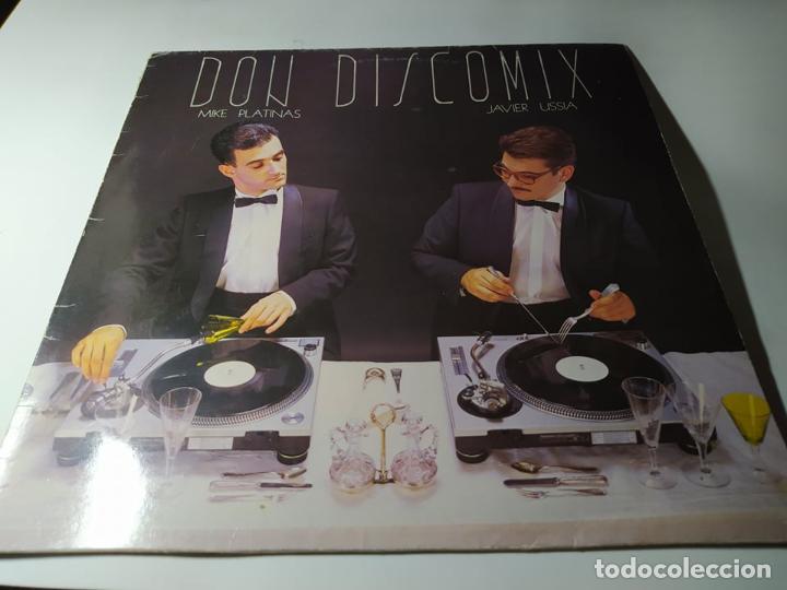 LP - MIKE PLATINAS, JAVIER USSIA ?– DON DISCOMIX - DDP 101 LP ( VG+ / VG+) SPAIN 1986 (Música - Discos - LP Vinilo - Disco y Dance)