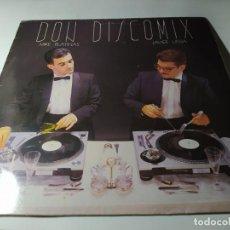 Discos de vinilo: LP - MIKE PLATINAS, JAVIER USSIA ?– DON DISCOMIX - DDP 101 LP ( VG+ / VG+) SPAIN 1986. Lote 213322532