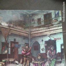 Discos de vinilo: TRIANA EL PATIO MOVIEPLAY 1975, PORTADA ABIERTA. Lote 213322807