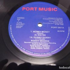 Discos de vinilo: AL WAYNE - MONEY MONEY --MAXI REGGAE--. Lote 213327021