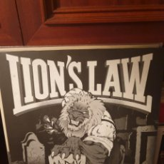 Disques de vinyle: LION'S LAW / A DAY WILL COME / CONTRA RECORDS 2015. Lote 213329740