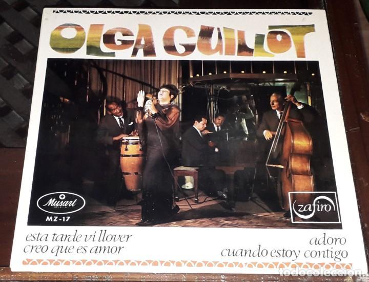 OLGA GUILLOT: ESTA TARDE VI LLOVER EP (Música - Discos de Vinilo - EPs - Flamenco, Canción española y Cuplé)