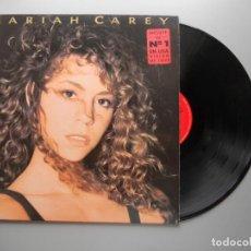 Disques de vinyle: MARIAH CAREY – MARIAH CAREY LP 1990 VG++/VG++ INCLUYE ENCARTE CON LETRAS. Lote 213335093