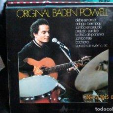 Discos de vinilo: BADEN POWELL ?– ORIGINAL BDEN POWELL. Lote 213335178