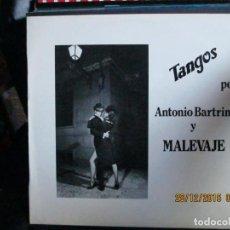 Discos de vinilo: MALEVAJE ?– TANGOS. Lote 213337663