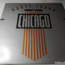 Discos de vinilo: LP - VARIOUS ?– THE HOUSE SOUND OF CHICAGO - LON LP 22 ( VG+ / VG+) UK 1986. Lote 213350407