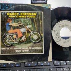 Discos de vinilo: BARRY FREEMAN SINGLE PROMOCIONAL MARY IN THE MORNING ESPAÑA 1971 /2. Lote 213354682