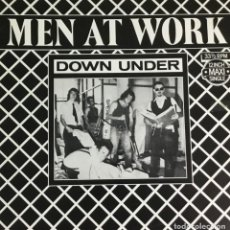 Discos de vinilo: MEN AT WORK - DOWN UNDER (ORIGINAL 1981). Lote 213363890
