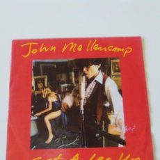 Discos de vinilo: JOHN COUGAR MELLENCAMP GET A LEG UP / WHENEVER WHE WANTED ( 1991 MERCURY GERMANY ). Lote 213364243