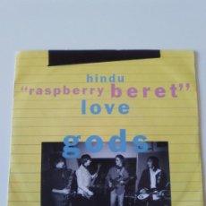 Discos de vinilo: HINDU LOVE GODS RASPBERRY BERET / WANG DANG DOODLE ( 1990 REPRISE UK ) WARREN ZEVON REM PRINCE. Lote 213365343