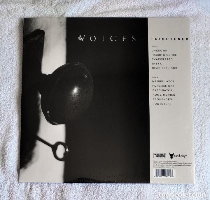 Discos de vinilo: VOICES - FRIGHTENED 12 LP GATEFOLD PRECINTADO - METAL PROGRESIVO BLACK METAL DEATH METAL - Foto 2 - 213367275
