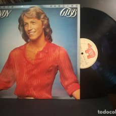 Disques de vinyle: ANDY GIBB SHADOW DANCING LP SPAIN 1978 PDELUXE. Lote 213367747
