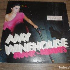 Discos de vinilo: AMY WINEHOUSE - FRANK REMIXES (USA 2007) (2LPS). Lote 213376763