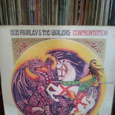 Discos de vinilo: LP BOB MARLEY & THE WAILERS // CONFRONTATION. Lote 213380402