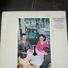 Discos de vinilo: LED ZEPPELIN (PRESENCE) LP.. Lote 213381292