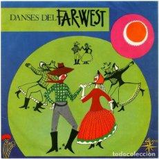 Discos de vinilo: GERRY REYNOLDS Y SUS TEXAS-BOYS – DANSES DEL FAR-WEST - EP SOLID CENTRE SPAIN 1968. Lote 213384352