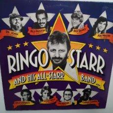 Discos de vinilo: RINGO STARR AND ALL STARR BAND- SPAIN LP 1990- THE BEATLES- VINILO COMO NUEVO.. Lote 213394222