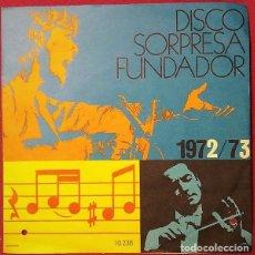 Discos de vinilo: FUNDADOR 10.236 - TONY RONALD – HELP / ONCE UPON A TIME / SUPERSTAR / MILK AND HONEY - EP 1972. Lote 213394343