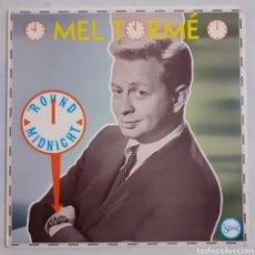 Discos de vinilo: MEL TORME. ROUND MIDNIGHT. ST 252. USA 1985.. Lote 213394975