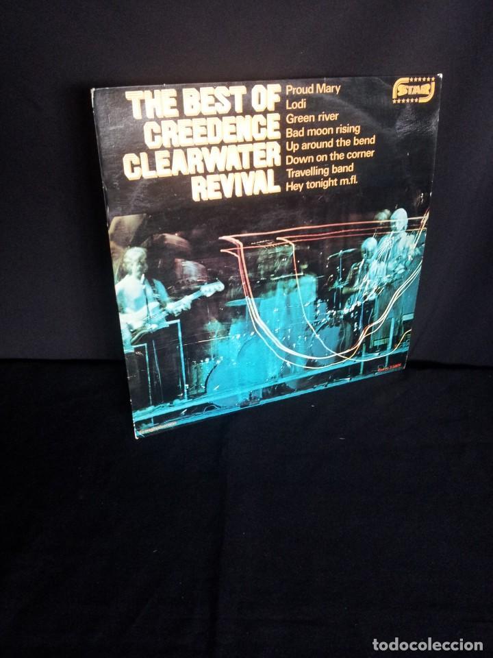 CREEDENCE CLEARWATER REVIVAL - LP, THE BEST OF - MULTIMUSIK PRODUKTION - MADE IN SWEDEN (Música - Discos - LP Vinilo - Pop - Rock - Extranjero de los 70)