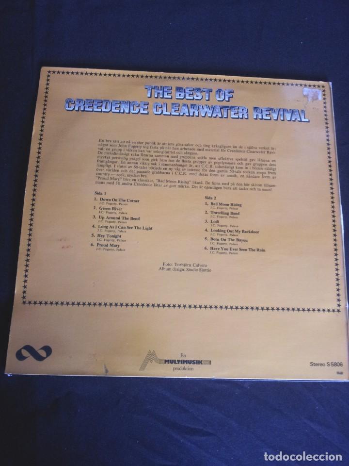 Discos de vinilo: CREEDENCE CLEARWATER REVIVAL - LP, THE BEST OF - MULTIMUSIK PRODUKTION - MADE IN SWEDEN - Foto 2 - 213401472