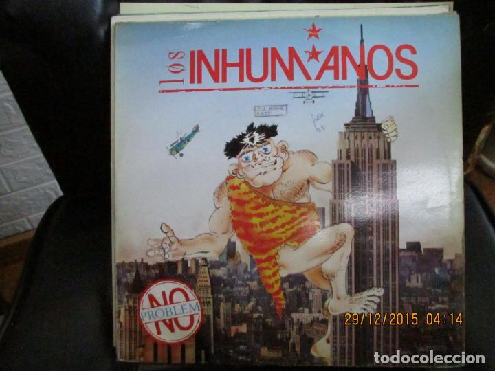 LOS INHUMANOS ?– NO PROBEM (Música - Discos - LP Vinilo - Grupos Españoles de los 70 y 80)