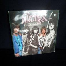 Discos de vinilo: INTERMEZZO - LP, PANSARJAZZ - SOS RECORDING 1980 - FIRMADO POR LOS COMPONENTES. Lote 213409846