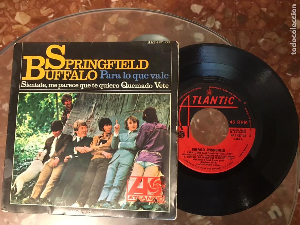 BUFFALO SPRINGFIELD PARA LO QUE VALE HAT 427. 03 (Música - Discos de Vinilo - EPs - Pop - Rock Extranjero de los 50 y 60)