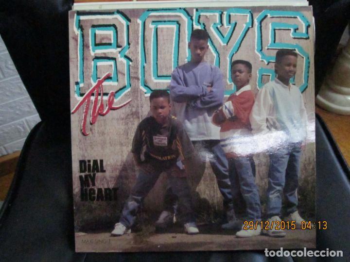THE BOYS ?– DIAL MY HEART (Música - Discos de Vinilo - Maxi Singles - Rap / Hip Hop)