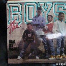 Discos de vinilo: THE BOYS – DIAL MY HEART. Lote 213411928
